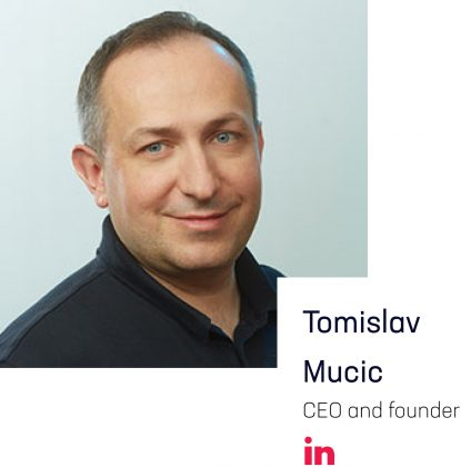 AceBlock Team: Tomislav Mucic, CEO and founder
